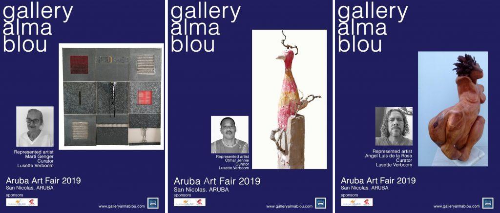 3 Aruba Art Fair November 2019 Invitations