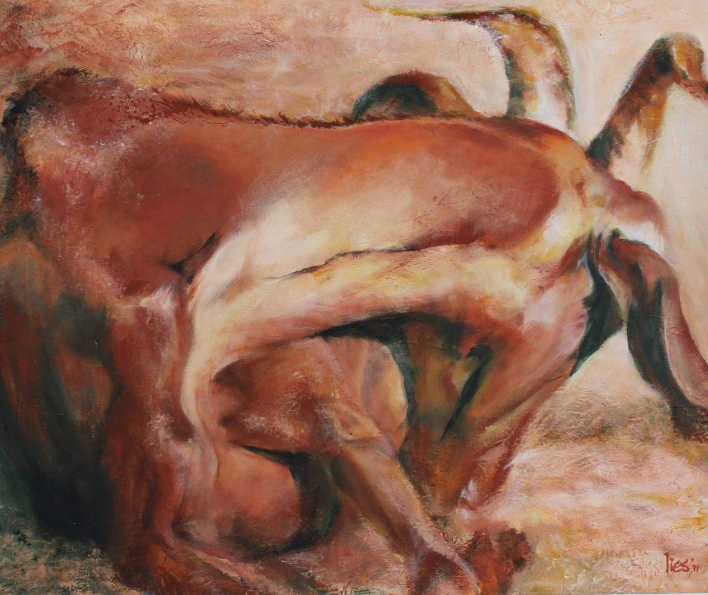 Liggende Geit (sleeping goat)