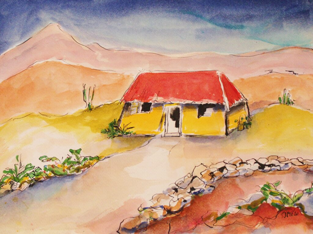 Huis in de Kunuku, Banda Abou